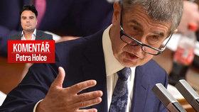 Premiér Andrej Babiš (ANO) a zažehnaná vládní krize v komentáři Petra Holce