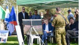 Miloš Zeman se v Izraeli vydal i na hranici s pásmem Gazy