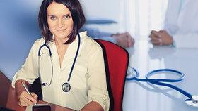 """Praktické lékařství se začíná """"feminizovat"""", muži by za tak málo nepracovali, myslí si mladá lékařka Markéta"""