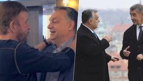 """""""Diktátor"""" Orbán pózoval s Chuckem Norrisem, pak dorazil za Babišem. Zatápí mu v EU"""