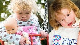Tříleté Izzy diagnostikovali leukemii. Dostala ocenění za svou statečnost.
