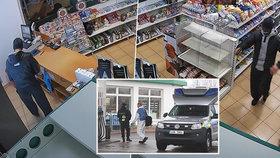 Policie zveřejnila záběry vraždy: Dva zakuklenci zastřelili Janu S. z benzínky ve Veltrusích