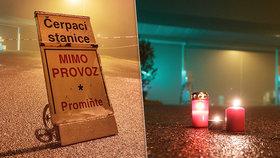 Na pumpě u Nelahozevsi došlo k příšernému zločinu