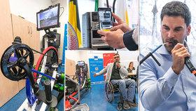Umělá inteligence nebo oční skener může výrazně zlepšit život zdravotně postiženým.