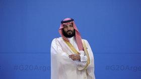 Korunní princ Saúdské Arábie Mohammad bin Salmán na summitu G20.