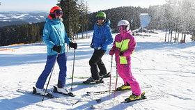 Čeští lyžaři si ještě stále nedostatečně chrání své zdraví (ilustrační foto).