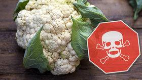 Květák od polského pěstitele s nadlimitním obsahem několika různých pesticidů zadržela v Česku Státní zemědělská a potravinářská inspekce (SZPI) (ilustrační foto).