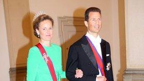 Rod Lichtenštejnů žádá po Česku vrácení majetku. Na snímku princ Alois z Lichtenštějnu s manželkou.