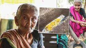 Zemřela nejstarší youtuberka. Indické kuchařce bylo 107 let