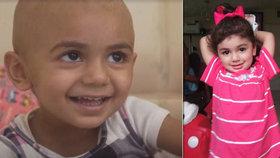 Malá Zainab (2) umírá na rakovinu. Kvůli své extrémně vzácné krvi ale nemůže najít dárce pro transfúzi