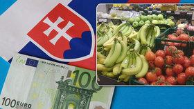 Potraviny na Slovensku zřejmě zdraží kvůli novému odvodu v řetězcích