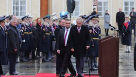 Slavnostní akt ke 100letému výročí Hradní stráže, 7. 12. 2018