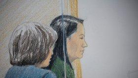 Mengové z Huawei hrozí v USA dlouholeté vězení