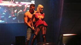 Daisy Lee na Erotickém veletrhu v Praze