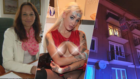 Daisy Lee na Erotickém veletrhu v Praze promluvila o popálené mamince.