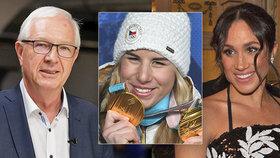 Co mají společného Jiří Drahoš, Ester Ledecká nebo Meghan Markle? Všichni tři patří k osobnostem, které Češi nejvíce začínali hledat v končícím roce.