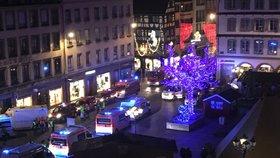 Dramatické události na vánočních trzích ve Štrasburku