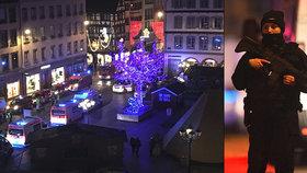 Teror na trzích ve Štrasburku: Čech v ohrožení! 3 mrtví, 13 zraněných. Postřelený útočník uniká!