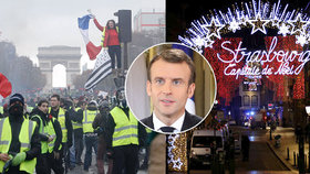 Konspirátoři přišli s teorií, že za střelbou ve Štrasburku stojí Macronova vláda, snažili se tak prý odvést pozornost od žlutých vest.