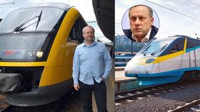 """Češi budou jezdit levněji, EU rozsekla boj o železnice. Jančura: """"Zbělely mi vlasy!"""""""