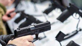Evropský soud projednává žalobu Česka, které nesouhlasí s novou směrnicí o zbraních, (ilustrační foto).