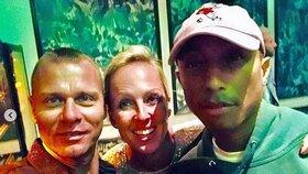 Zuzana Belohorcová a Pharrell Williams