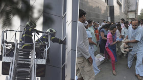 Při požáru v indické nemocnici zahynulo 6 lidí.