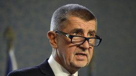 Andrej Babiš (ANO) po posledním jednání vlády v roce 2018, kde se řešil střet zájmů a problém dotací pro Agrofert (17. prosince).