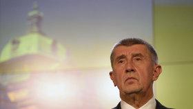 Andrej Babiš (ANO) po posledním jednání vlády v roce 2018, kde se řešil střet zájmů a problém dotací pro Agrofert (17. prosince)