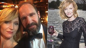 Aňa Geislerová a Ralph Fiennes