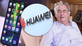 Hrad je podle smlouvy propagátorem značky Huawei.