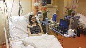V nemocnici u Boromejek strávila dívka měsíc