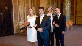 Fotografie ze svatby Světlany Zárubové Witowské a Petra Witowského