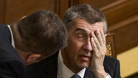 Premiér Andrej Babiš (ANO) loni označil Miroslava Kalouska (TOP 09) za lháře a alkoholika