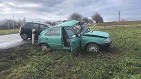 Při předvánoční autonehodě zemřeli dva lidé.