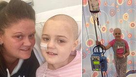 Vánoční zázrak: Sofie (9) trpící leukémii upadla do kómatu a lékaři jí nedávali šanci na přežití. Malá bojovnice se probrala na Boží hod