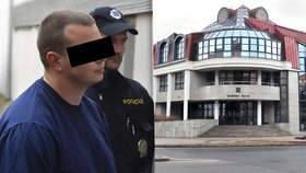 Přepadl banku v Příbrami a držel rukojmí: Mladého muže vyšetří psycholog.