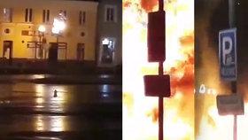 Megavýbuch v kanálu otřásl celým náměstím.