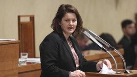 Ministryně práce a sociálních věcí Jan Maláčová (ČSSD) chtěla, aby se životní minimum zvýšilo již letos v lednu.