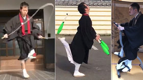 Japonští mniši a jejich výzva