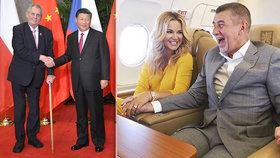 Prezident Miloš Zeman se i letos vydá znovu do Číny. Premiér Andrej Babiš odletí na týden do Thajska, Singapuru a Indie