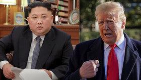 Americký prezident Donald Trump jedná s Kim Čong-unem o dalším summitu, (7.1.2018).