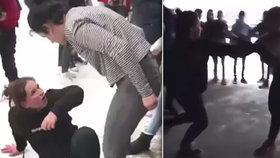 Podle svědka mají dívky, které se bijí v Košicích, dokonce své agenty.