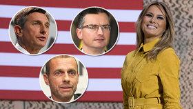 Melania Trump obsadila první místo v žebříčku nejvlivnějších Slovinců.