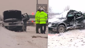 Tragická nehoda na D1 na Slovensku. Elena na místě zemřela.