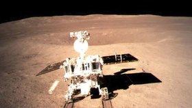 Další z fotografií zachycených sondou Čchang-e 4, která na odvrácené straně Měsíce přistála 3. ledna (11.1.2019)