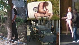 Nejlepší úlovky na Google Street View
