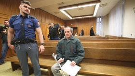 Jaromír Balda před soudem
