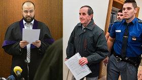 Jaromír Balda před soudem.
