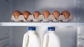 Vitamin D můžete doplnit třeba pomocí rybího tuku, vajec nebo mléka. (Ilustrační foto)